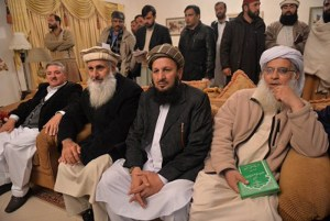 AKORA KHATTAK Government Taliban Meeting