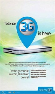 Telenor 3G launched  cities- Network Benefits