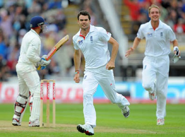 1st Test match result India vs England