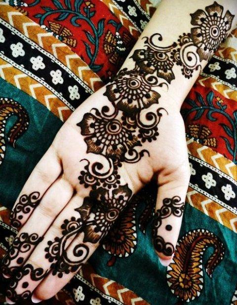 Henna Mehndi For Festival 2016