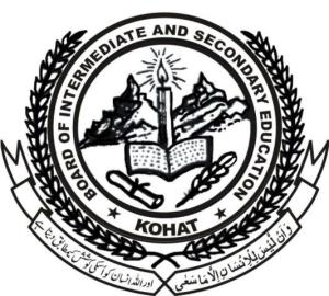 matric/ Inter kohat board date sheet 2015