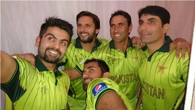 pakistani players in new kit