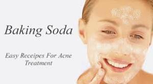 baking soda paste for acne treatment