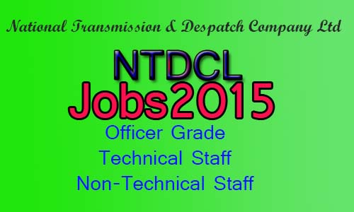 National transmission & Dispatch company jobs 2015