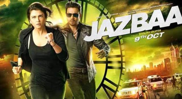 jazbaa movie trailer poster