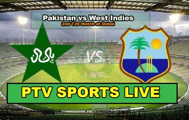 PTV sports live streaming 2nd T20 Pakistan vs West Indies 24th September 2016