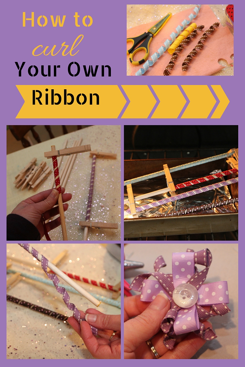 How to Curl Your Own Ribbon!