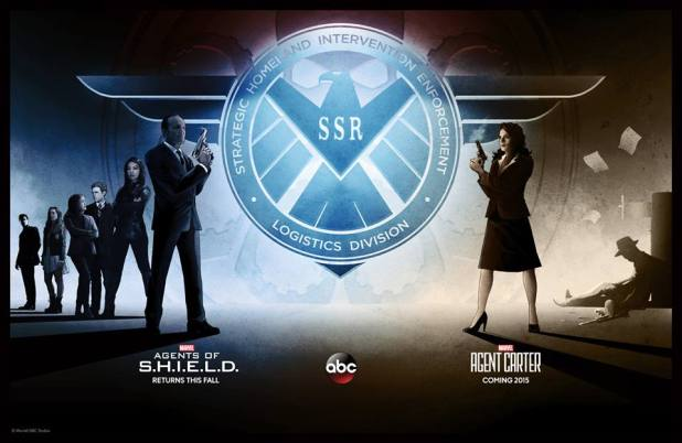 Agents of SHIELD Agent Carter SDCC Poster
