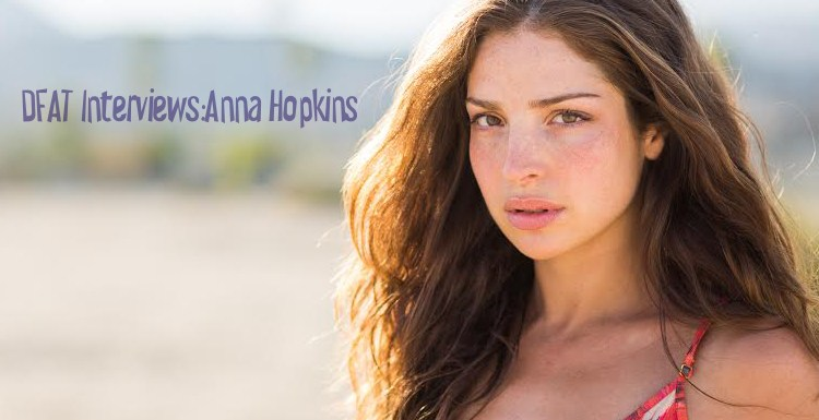 Anna Hopkins Interview Slider