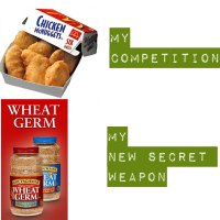 My Secret Weapon: Kretschmer Wheat Germ (Plus Baked Chicken Fingers Recipe)
