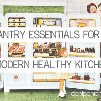 Pantry Essentials for a Modern Healthy Kitchen