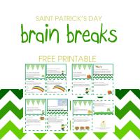 St. Patty's Day Brain Breaks