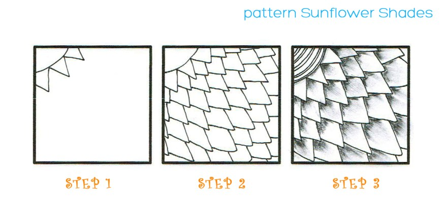 pattern SUNFLOWER SHADES 2
