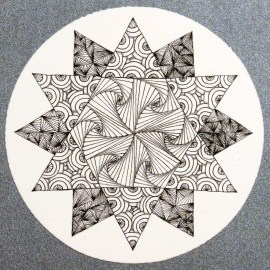 J. Van Pelt Zentangle1