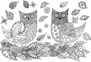 owls-zentangle1
