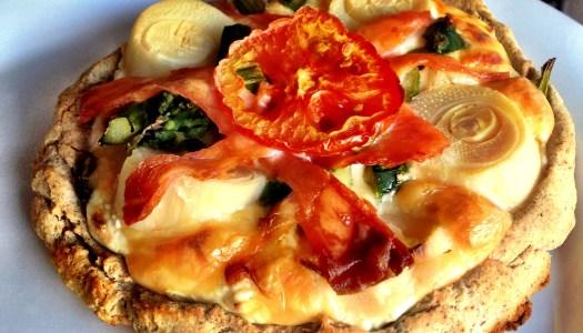 Pizza Maromba com Tofupiry da Tati Guidi