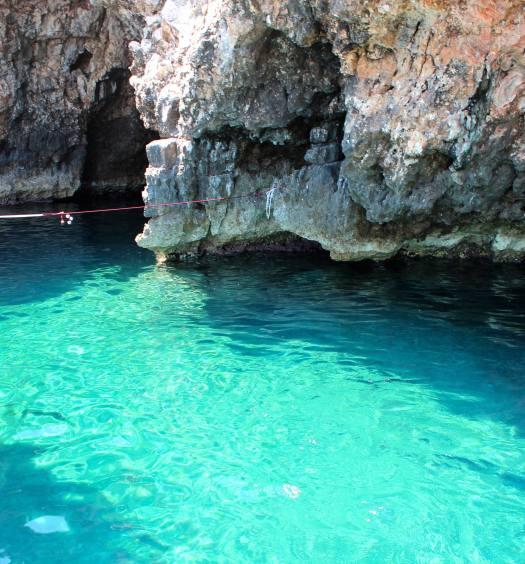 Entrada para a Green Cave