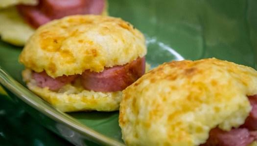 Petisco para copa do mundo – Pão de queijo recheado
