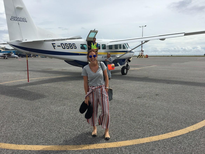 Avião para ST.Barth