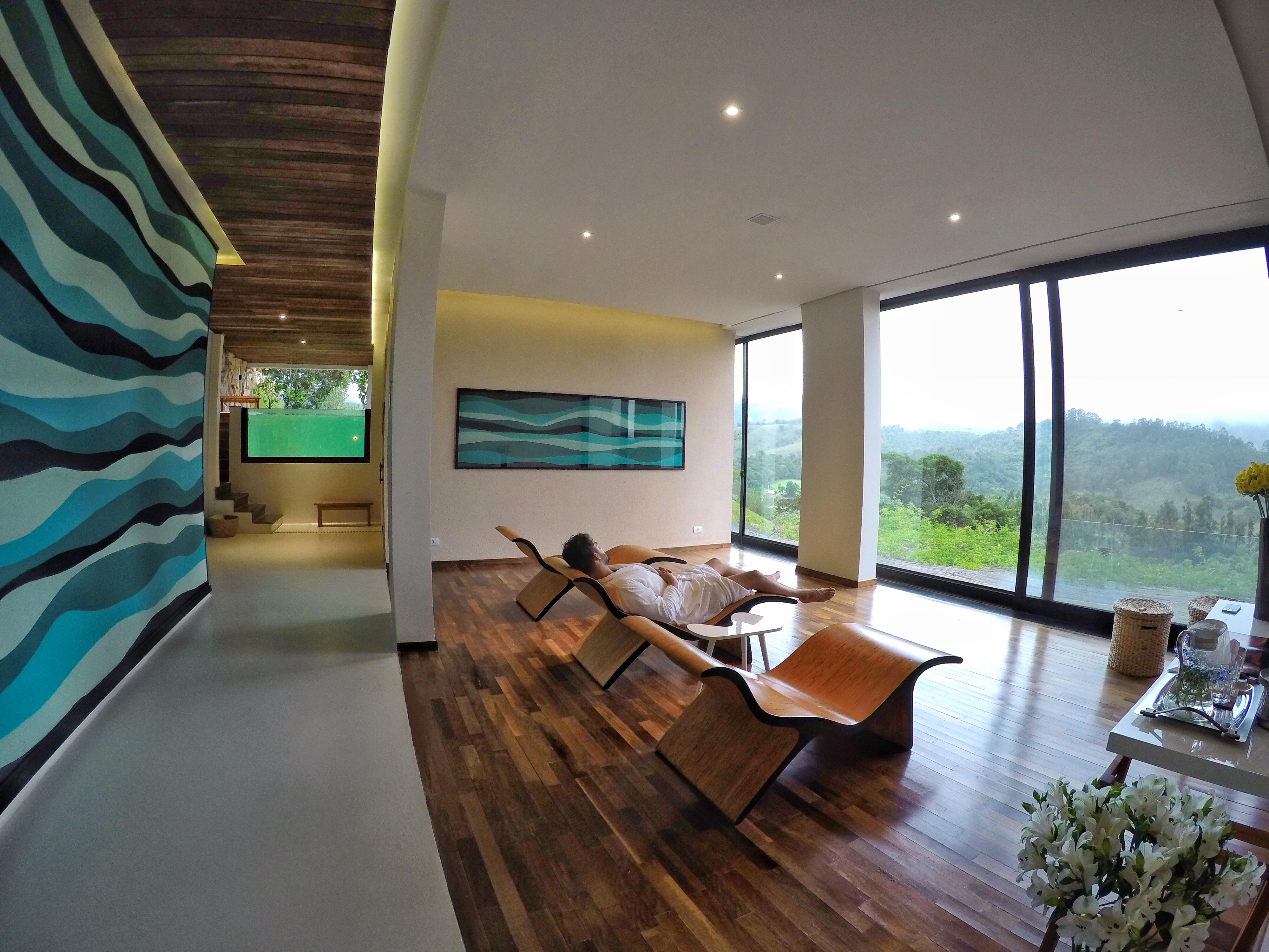 Área de relaxamento