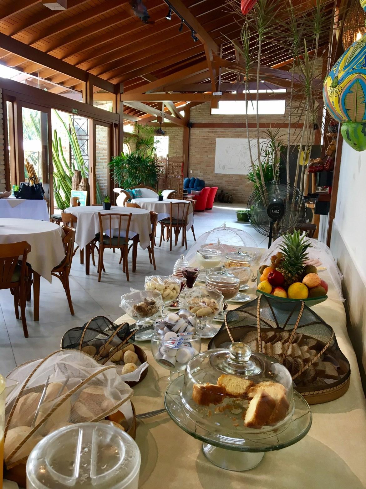 Café da manhã Villa Bebek