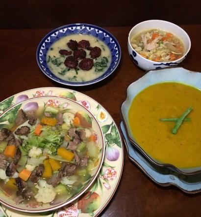 receita 5 sopas low carb para o inverno