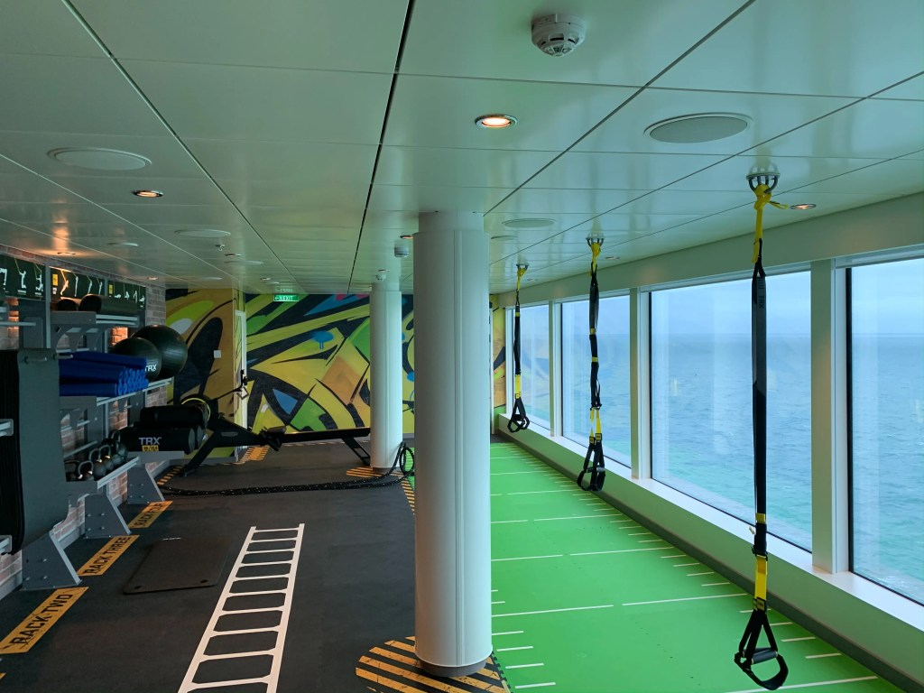 norwegian encore gym