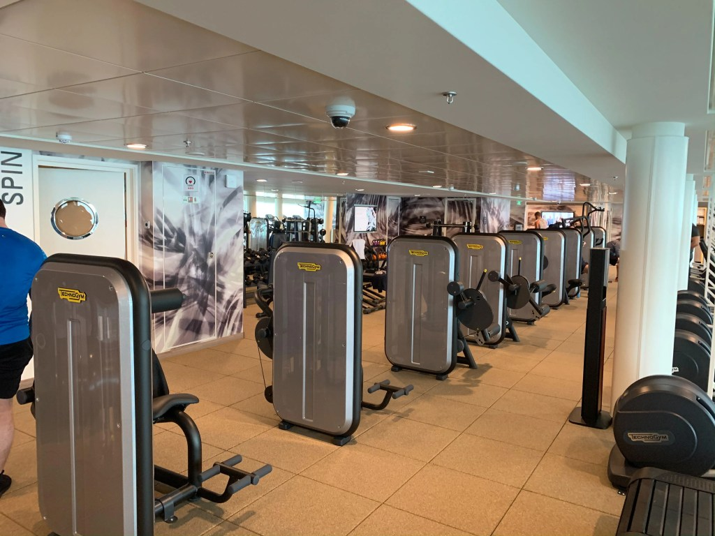 norwegian encore gym 3