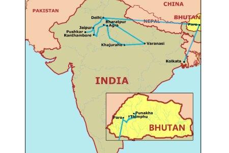 india/bhutan 2013