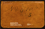 Herreshoff offset book for #510 PETREL and #625 DORIS