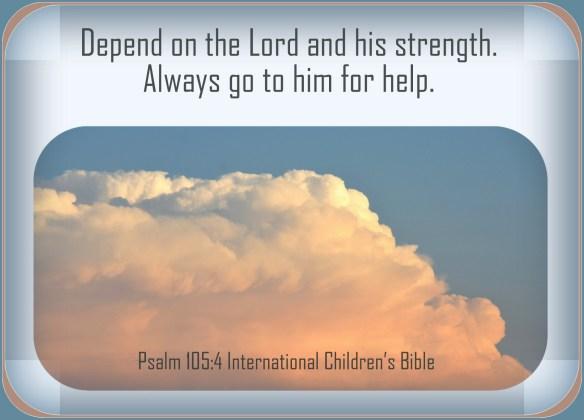 Psalm 105-4
