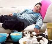 Las personas gordas duermen mucho