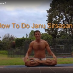 Stretch your hamstrings with Janu Sirsasana A