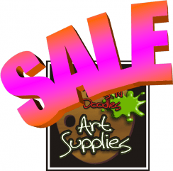 Labor Day Sale - 20% off everything @ Dots 'N Doodles Art Supplies | Astoria | Oregon | United States