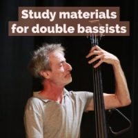 Recommended Classical and Jazz Study Materials for Double Bassists