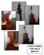 Czech Bass for Sale