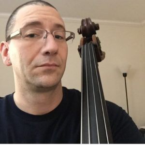 Double bassist and music education Peter Tambroni is today's featured guest