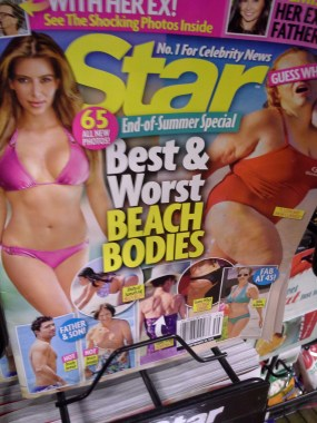 Labeling ANY body as the worst is not OK, celebrity or not.