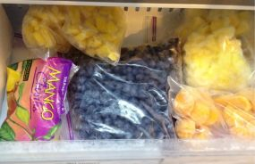 Veronica's amazing drawer of smoothie wonder