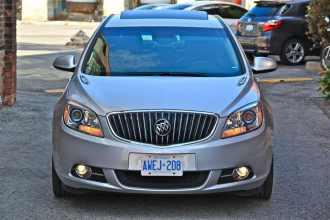 2012 Buick Verano front
