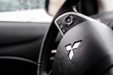 2014 Mitsubishi Mirage SE steering wheel