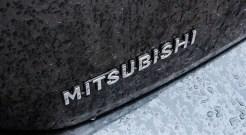 2014 Mitsubishi Mirage SE rear emblem