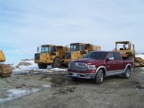 2014 Ram 1500 Laramie front 1/4