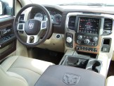 2014 Ram 1500 Laramie interior
