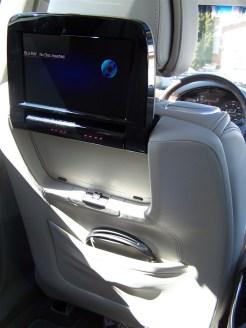 2014 Cadillac XTS Vsport BluRay player