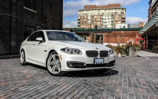 2014 BMW 535d xDrive front 1/4