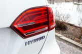 2014 Volkswagen Jetta Hybrid taillight