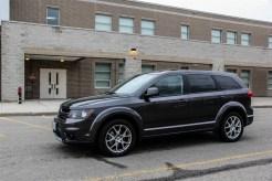 2014 Dodge Journey R/T front side profile