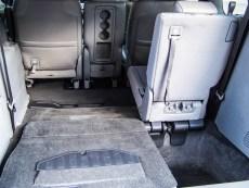 2014 Honda Odyssey Touring folded seats