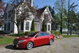 2014 Buick Regal GS front 1/4 profile